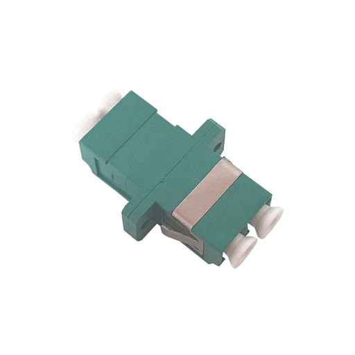 LC Multimode Aqua Duplex Adaptor