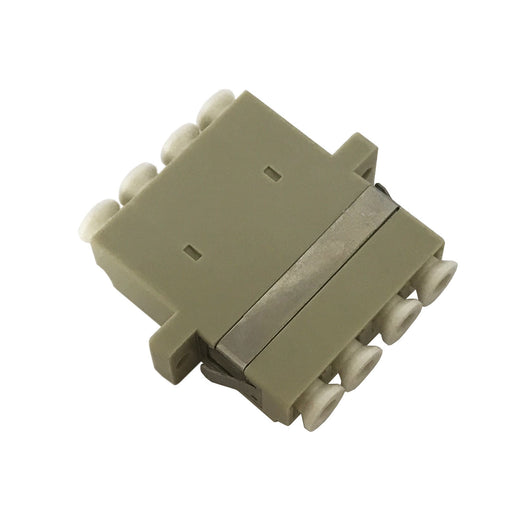 LC Multimode Beige Quad Adaptor