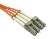 OM2 50/125 Fibre Optic LC-LC Duplex Patchlead