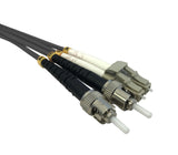 OM1 62.5/125 Fibre Optic LC-ST Duplex Patchlead