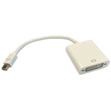 Mini DisplayPort Male - DVI Female Cable Adaptor 15cm