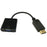 DisplayPort Male - VGA Female Cable Adaptor 15cm