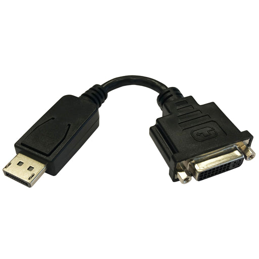 DisplayPort Male - DVI Female Cable Adaptor 15cm