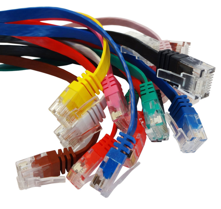 Cat6 Flat Ethernet Patch Leads