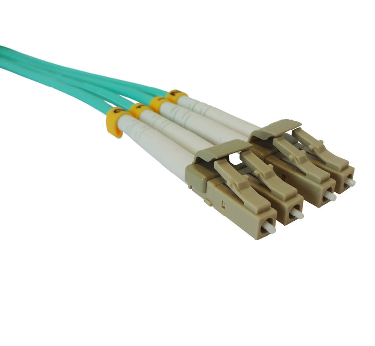 OM4 50/125 Fibre Optic LC-LC Duplex Patchlead