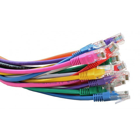 Ethernet Cable Cat6 UTP RJ45 Network Lan Patch Lead 100% Copper