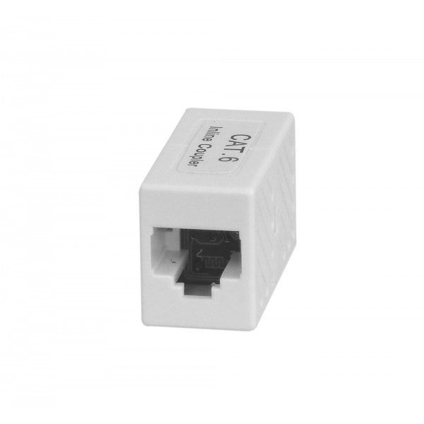 Cat6 UTP RJ45 Through Coupler
