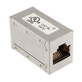 Cat6a FTP Shielded RJ45 Through Coupler - Datazonedirect