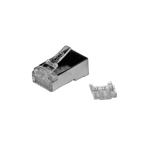 Packs of Cat6a FTP RJ45 Plug - For Solid Cable