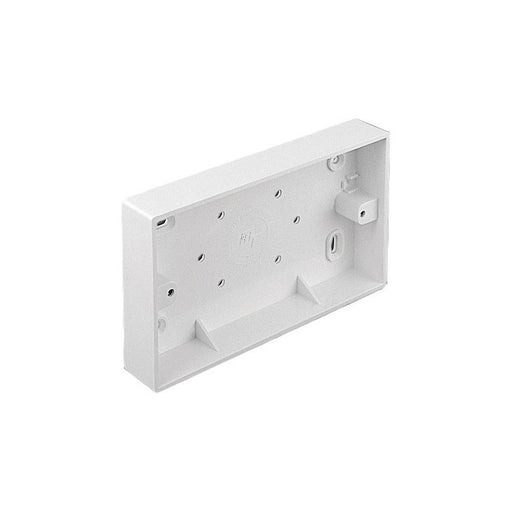 Double Gang 32mm Deep Surface Mount Back Box
