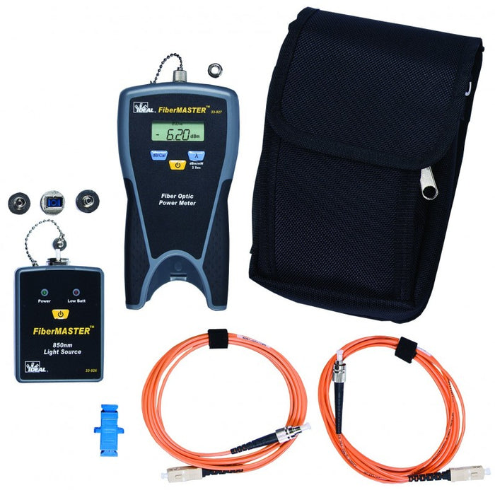 FiberMASTER™ Fiber Optic Test Kit