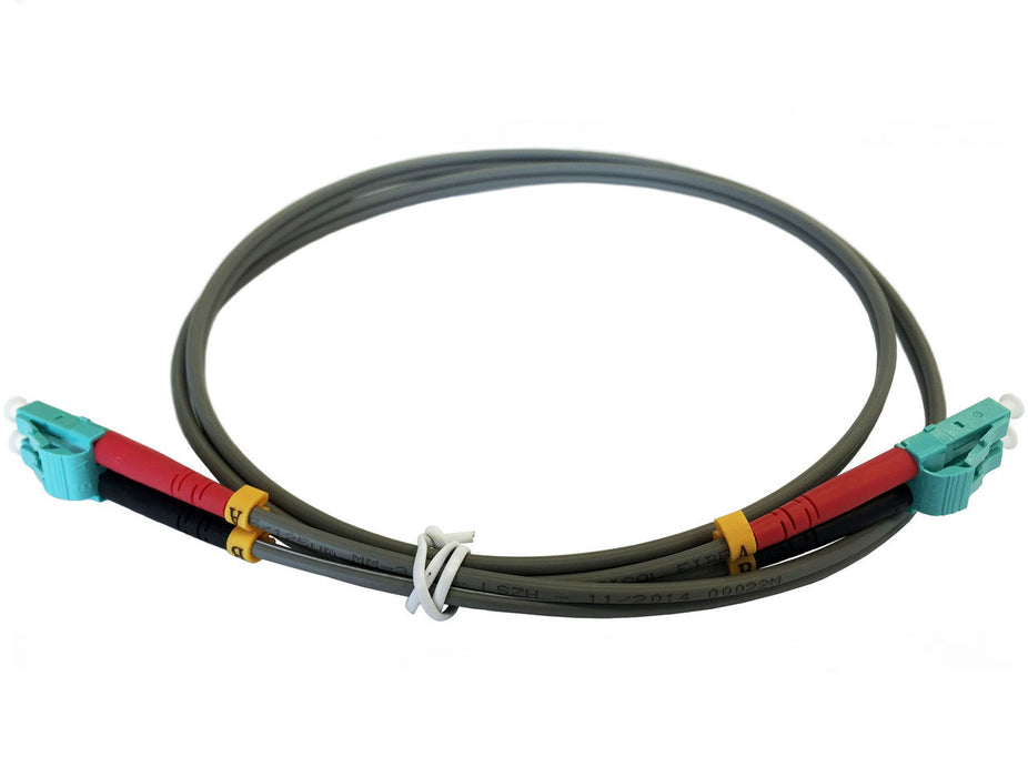 OM1 62.5/125 Fibre Optic LC-LC Duplex Patchlead