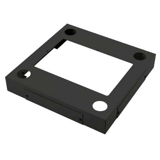 600mm x 600mm Black Data Cabinet Plinth