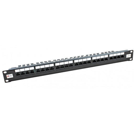 24 Way Cat6 2020 Right Angled UTP Patch Panel