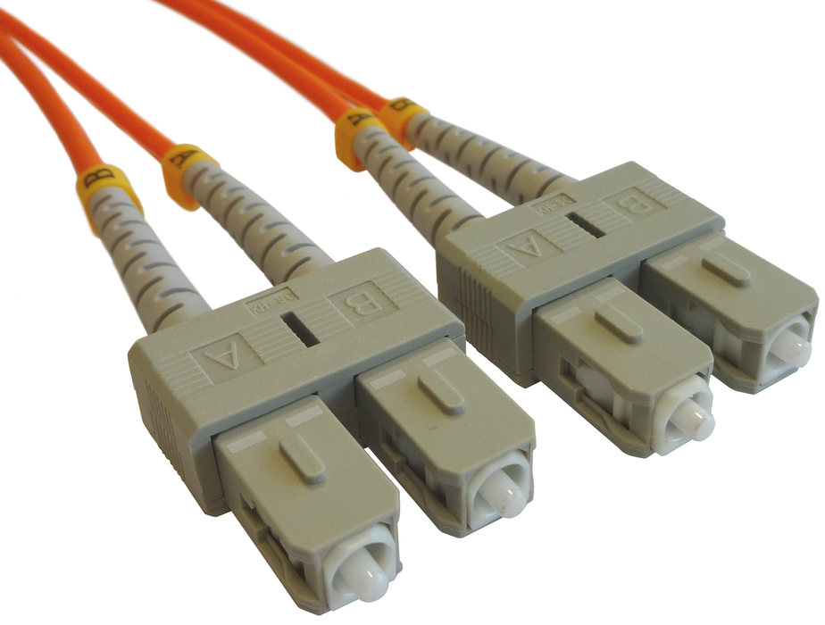 OM2 50/125 Fibre Optic SC-SC Duplex Patchlead