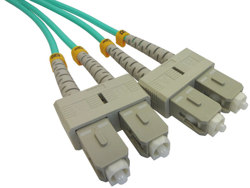 OM3 50/125 Fibre Optic SC-SC Duplex Patchlead