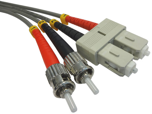 OM1 62.5/125 Fibre Optic SC-ST Duplex Patchlead