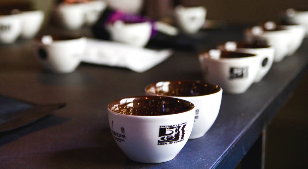 Cupping - Cups laut Specialty Coffee Association
