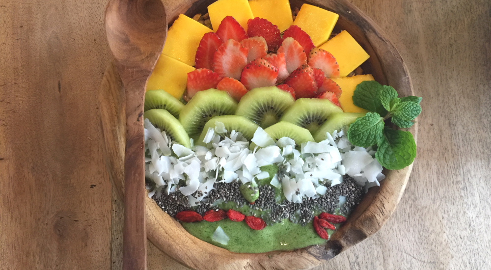 Grüne Smoothie Bowl