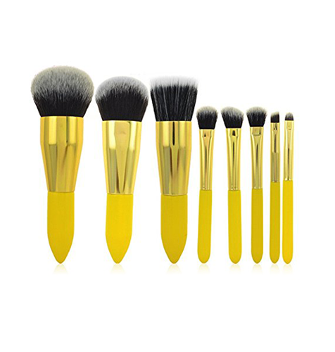 8 Piece Professional Make Up Brushes Set