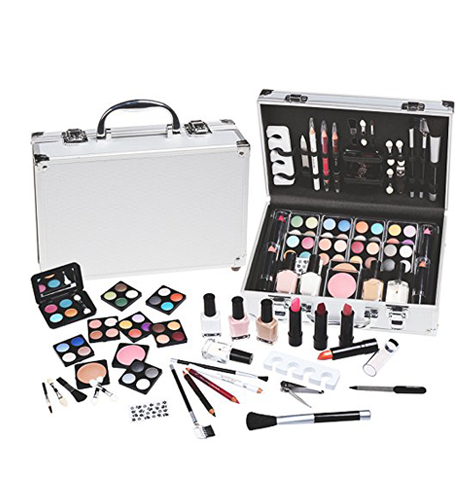 61 Piece Vanity Make Up Case