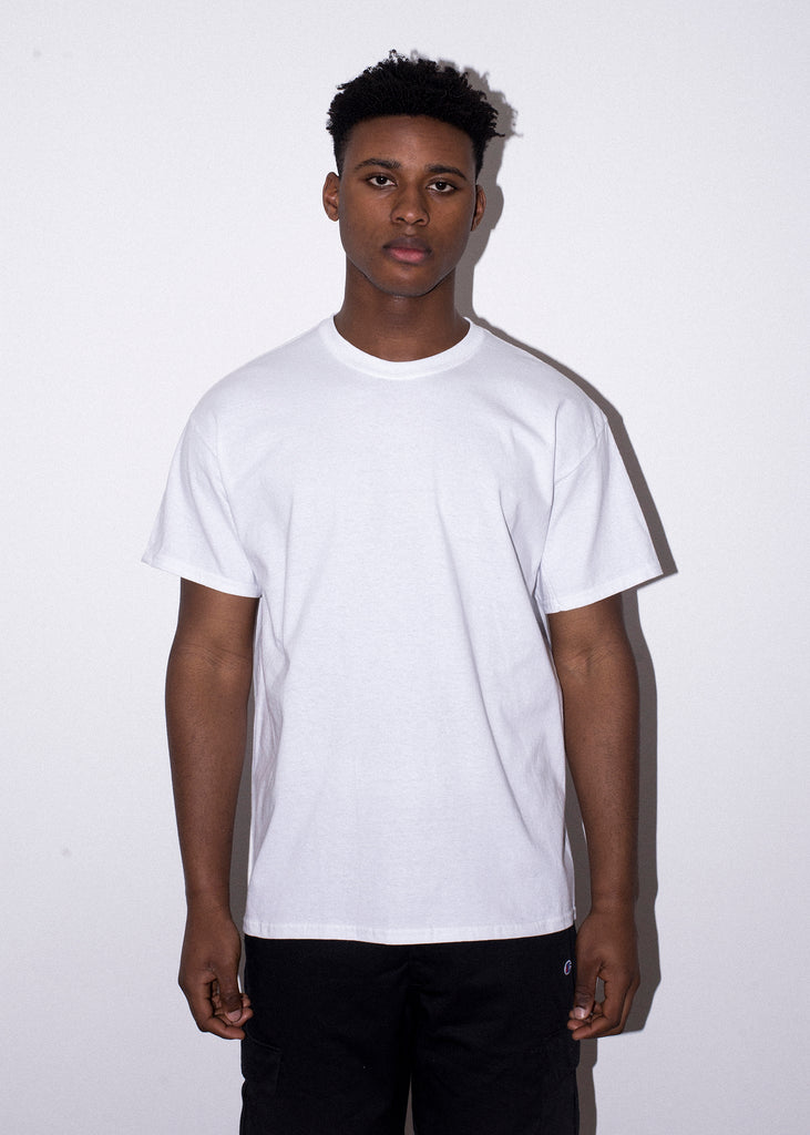 INDIAN ROSE WHITE TEE