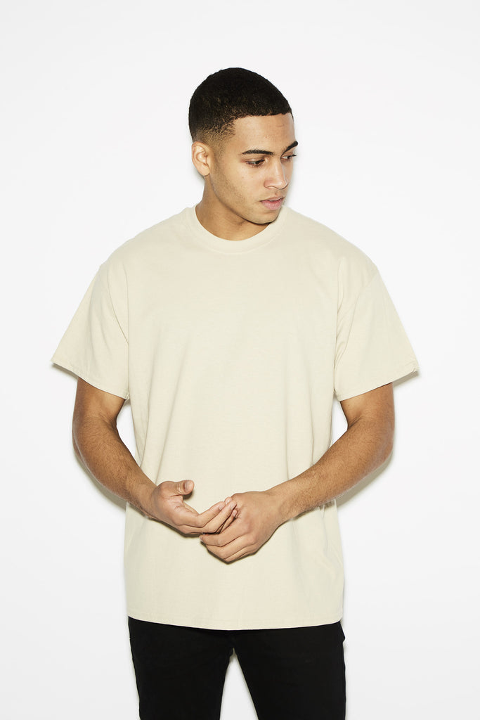 HNR LDN Pray For Me Beige Tee