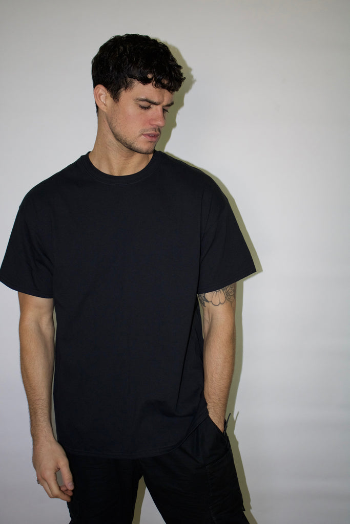 ASTROLOGY BLACK TEE