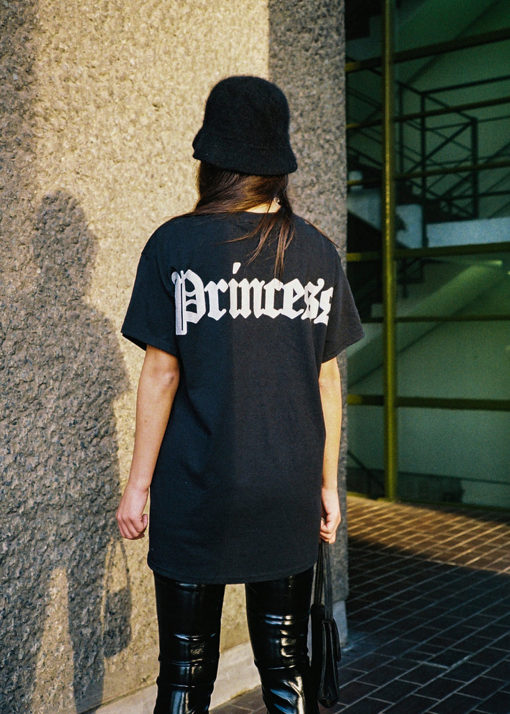 WMNS PRINCESS BLACK TEE