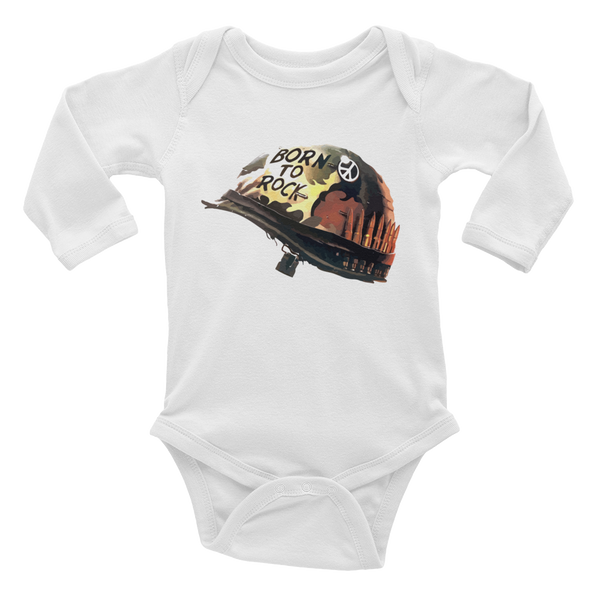 Born to Rock Infant long sleeve one-piece