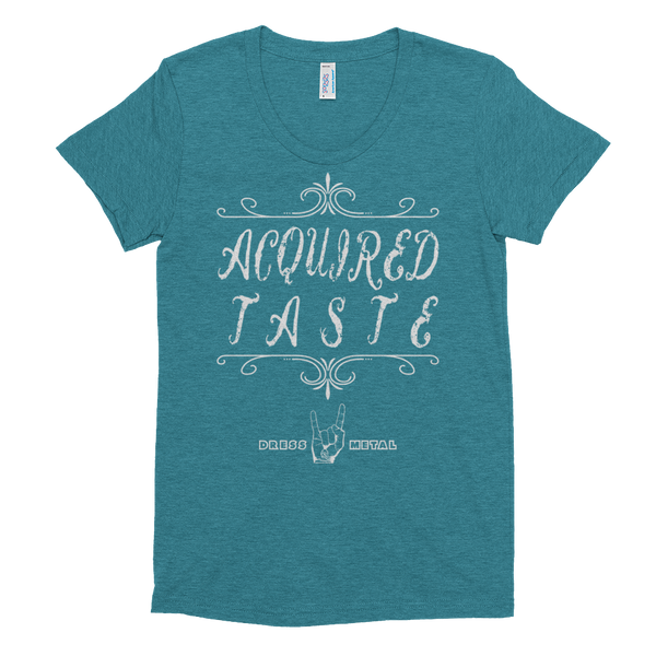 Acquired Taste Tri-Blend Women's short sleeve T-shirt