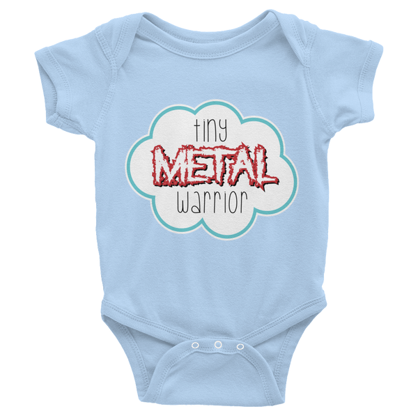 Metal Warrior Infant short sleeve one-piece