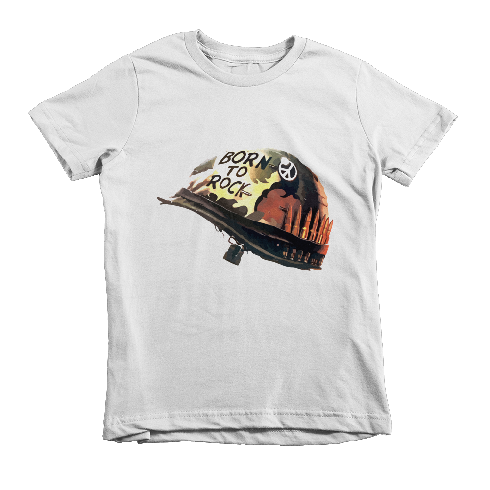 Born to Rock Short sleeve kids t-shirt