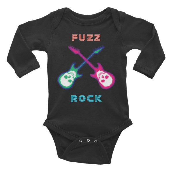Fuzz Rock Infant long sleeve one-piece