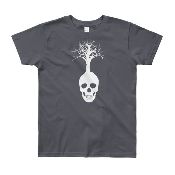 Skull Tree Youth Short Sleeve T-Shirt