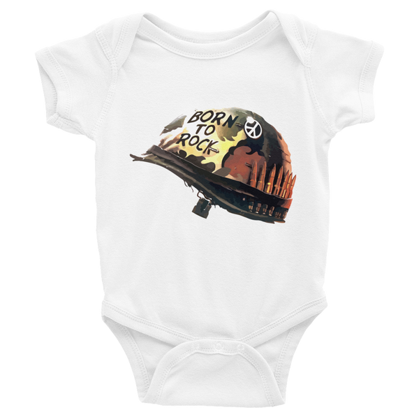 Born to Rock Infant short sleeve one-piece