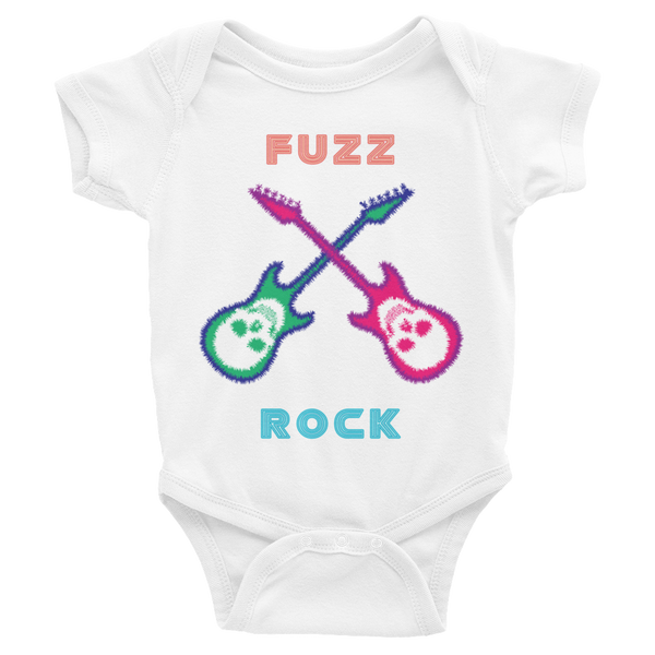 Fuzz Rock Infant short sleeve one-piece