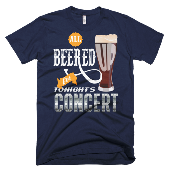 All Beered Up Short sleeve Men's T-shirt
