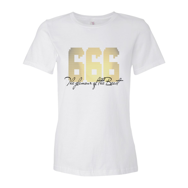 Glamour of the Beast white Women's short sleeve T-shirt