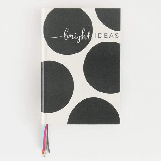 A5 Bright Ideas Big Spot Multi-Ribbon Notebook by Caroline Gardner Notebook Love MUL105 Notebook Love