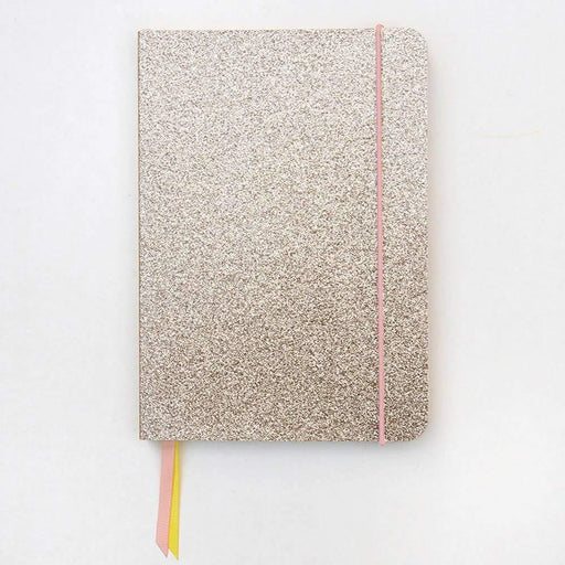 A5 Caroline Gardner Gold Glitter Notebook Notebook Love AFN103 Notebook Love