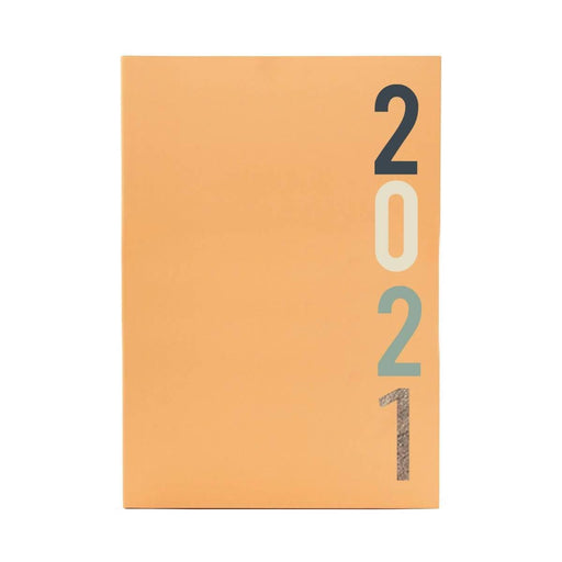 A5 Classic Full Year Diary - Cantaloupe Go Stationery CDA5DICA20 Notebook Love