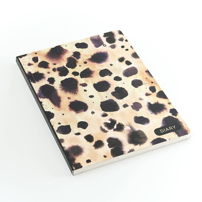 A5 Classic Full Year Diary - Cheetah Go Stationery CDA5DICH20 Notebook Love