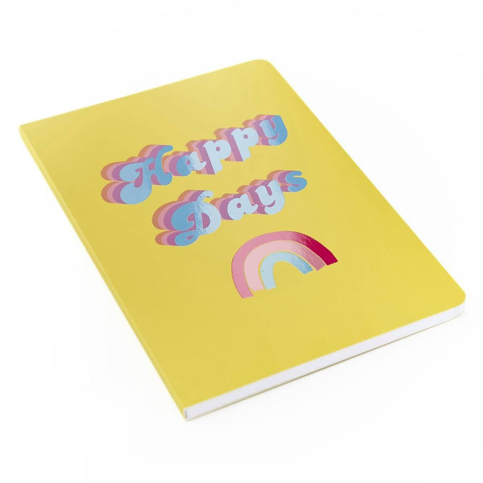 A5 Classic Full Year Diary - Happy Days Go Stationery CDA5DIHD20 Notebook Love