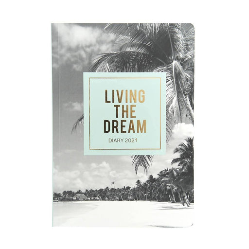 A5 Classic Full Year Diary - Living The Dream Go Stationery CDA5DILD20 Notebook Love