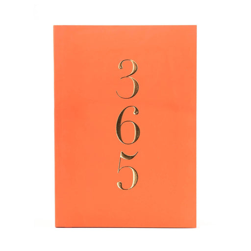 A5 Classic Full Year Diary - Vivid Coral Go Stationery CDA5DIVC20 Notebook Love