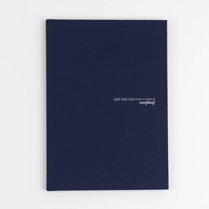 A5 Classic Notebook - Blue Hyphen London CLA-BLU Notebook Love