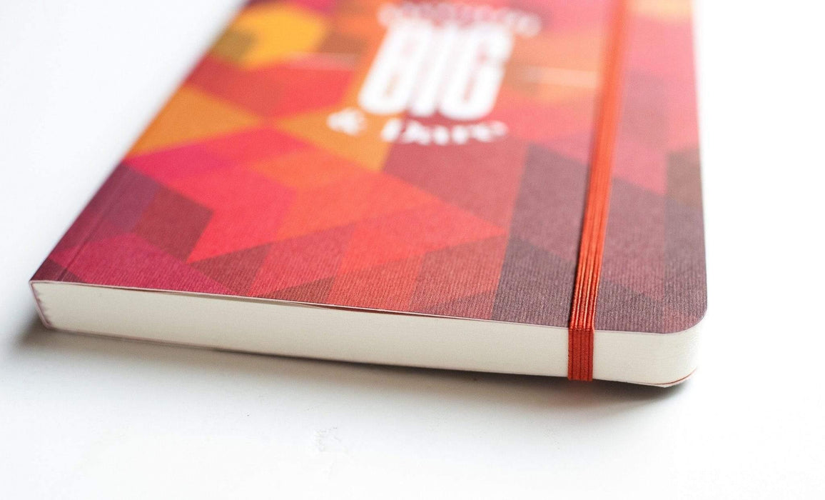A5 Notebook Love Dream Big and Dare Notebook with Elastic Notebook Love 5NBL007 Notebook Love