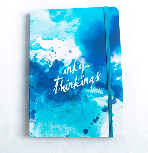 A5 Notebook Love Inky Thinkings Notebook with Elastic Notebook Love 5NBL002 Notebook Love