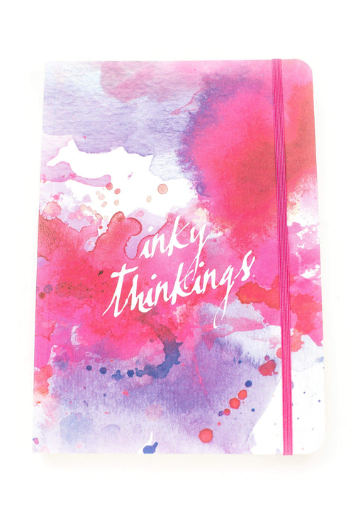 A5 Notebook Love Pink Inky Thinkings Notebook with Elastic Notebook Love 5NBL009 Notebook Love